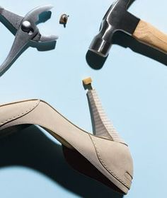 A quick #DIY guide to replacing a worn-down heel tip.