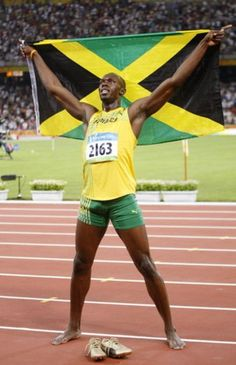 No matter who you are or wherever you're from, Jamaica's track team is always your #1 team. !Team Jamaica!