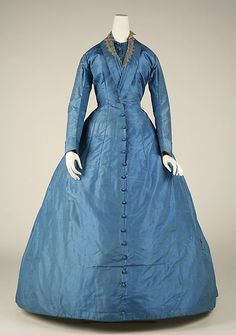 Dress    Date:      1865–68  Culture:      European  Medium:      silk