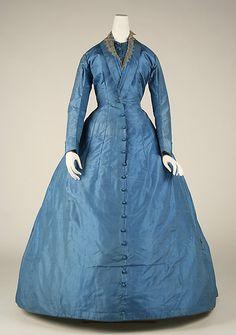 Dress  Date: 1865–68 Culture: European Medium: silk