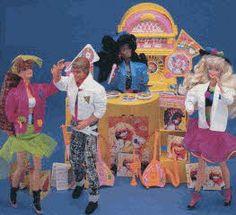 Barbie's Dancetime Shop...I had a Sister ok!
