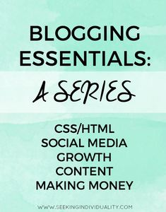 Packed with CSS/HTML tutorials, social media advice, tips to grow your blog, and much more!