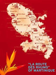 Uncommon Attraction: Martinique's Route des Rhums (Rum Routes)  Martinique   Uncommon Caribbean