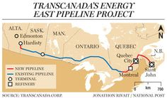 TransCanada to proceed with 'nation-building' Energy East pipeline between Alberta, New Brunswick. Keystone still needed.
