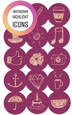 Keep on top of all things Instagram and use these icons to continue to personalize your personal or business brand!
