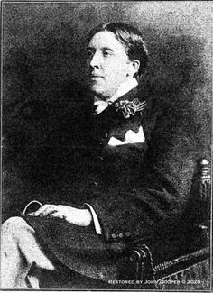 A redisocvered photograph of Oscar Wilde. Read about it on the Oscar Wilde in America blog. Oscar Wilde, World History, A Good Man, Vintage Photos, Authors, Writer, The Past, Photographs, Poetry