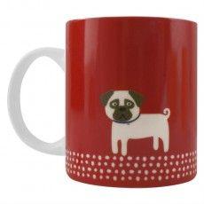 Scandi Pug Mug