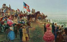 The Grand Review, By Mort Kunstler