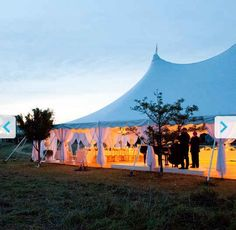 wedding tent from jumping the broom