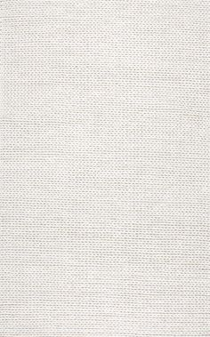 Love this rug ! Rugs USA - Area Rugs in many styles including Contemporary, Braided, Outdoor and Flokati Shag rugs.Buy Rugs At America's Home Decorating SuperstoreArea Rugs White Rug, White Area Rug, White Carpet, Braided Area Rugs, Rug Texture, Wood Texture, Rugs Usa, Buy Rugs, Round Rugs
