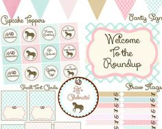 free cowgirl printables - Google Search
