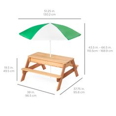 Wooden Picnic Tables, Sand Table, Sand And Water Table, Water Tub, Table And Bench Set, Kids Outdoor Furniture, Kids Sand, Picnic Set, Outdoor Play
