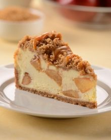Cheesecake Factory Dutch Apple Caramel Streusel Cheesecake copycat recipe