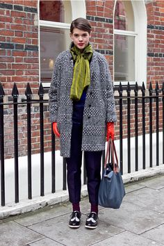 Olive Collar: WARM STREET STYLE