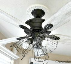 15 Expensive Looking Lighting Ideas That Might Surprise You. Rustic Ceiling  FansCeiling ...