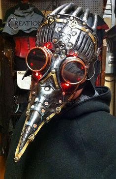 Mask of the doctor of the plague the by CreationsDDWorkshop, $400.00 #halloween #halloweenmask