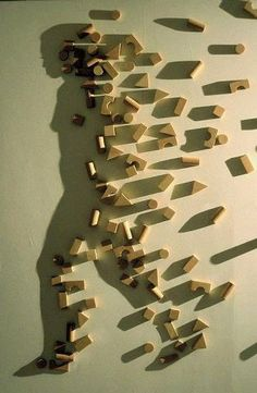 Silhouette artist kuni Yamashita in her series entitled Light and Shadow, Kuni uses a single light source along with an assortment of perfectly placed objects to create incredible shadow silhouettes and art work on walls.