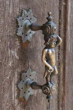 """Not your typical door handle"" - Venice, Italy, by Esther Moved to Ipernity (... 