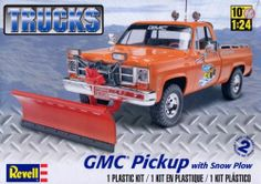 Revell GMC Pick up with Snow Plow  box art
