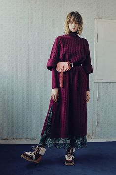 See by Chloé, Roll cuff sweater sleeves