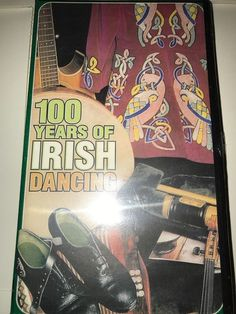 VHS 100 Years of Irish Dancing Ceili Dance 1897-1997 Video Tape NTSC Sealed