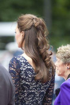 Kate Middleton hair style