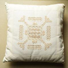 Linen stitch Hardanger by CocciMerletti on Etsy