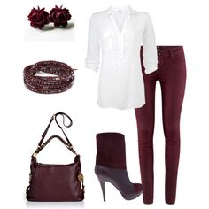 A fashion look from September 2012 featuring Splendid blouses, H&M jeans and MICHAEL Michael Kors shoulder bags. Browse and shop related looks.