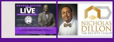 http://www.blogtalkradio.com/sourceradio/2015/08/02/everything-wkathy-b-nicolas-dillon-stacy-harper-pastor-kenny-smith  Source Nation! Join us tonight at 6:15 EST for, It's Your TIME: Personal Development with Dr. Jackson, as he welcomes Author & Entrepreneur, Nick Dillon, aka, The Believe Coach into the studio to discuss, Personal Development: The Importance of Believing. You can be a part of this conversation by calling, 619-924-0933.  @thebelievecoach @tjackphd @srn_kathyb @kathyb918