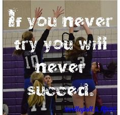 Volleyball quotes.