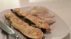 Gefüllte Zucchini mit Frischkäse, ein raffiniertes Rezept aus der Kategorie Gemüse. Bewertungen: 104. Durchschnitt: Ø 4,1.