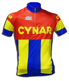 Maglia Ciclismo Manica Corta Cynar Vintage - Store For Cycling