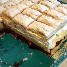 Jóság szelet Recept képpel - Mindmegette.hu - Receptek Spanakopita, Sandwiches, Baking, Ethnic Recipes, Food, Bakken, Essen, Meals, Paninis
