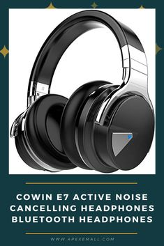 Description Buy #COWIN E7 Wireless Bluetooth Headphones with Mic Hi-Fi Deep Bass! Over Ear, Comfortable Protein Earpads, 30 Hours Playtime time, by #amazon!  Price: $69.99 For purchase & more details, Click on img.