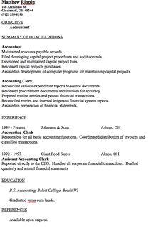 entry level accountant resume sample httpresumesdesigncomentry - Waitress Cover Letter Sample