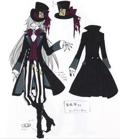 Ciel in wonderland. The undertaker as the mad hatter is PERFECT