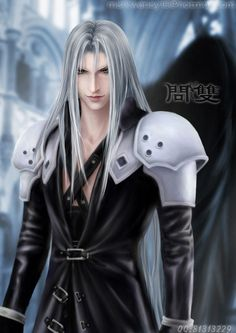 Sephiroth. Fan art. Final Fantasy VII.