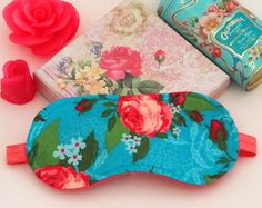 Check out our eye mask selection for the very best in unique or custom, handmade pieces from our shops. Slumber Party Favors, Slumber Parties, Baby Shower Favors, Baby Shower Parties, Eye Masks, Vintage Marketplace, Shabby Chic, Sleep, Handmade