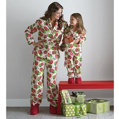 557f76715f Matching Mother Daughter Pajamas - Our matching pajamas for moms