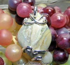 Handmade Wire Wrapped Pendent Shirley Jackson Design by AJewelryC