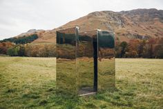 The Mirrored LookOut at Loch Voil in Scotland