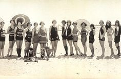 1920's bathing beauties