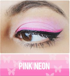 Headed to a rave this weekend? We've got the perfect eye inspiration for you! Click through for the steps and tools!