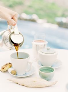 Pale blues | Breakfast Coffee | Jen Huang