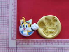 Sonic Character Hedgehog Silicone Push Mold A944 Chocolate Fondant Sugarcraft #LobsterTailMolds