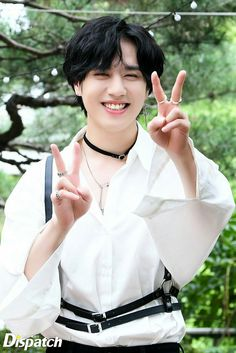 "Yugyeom - ""Main Dancers"" by Dispatch Legit the prettiest smile I& ever see."