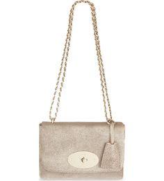 MULBERRY - Lily metallic leather shoulder bag   Selfridges.com