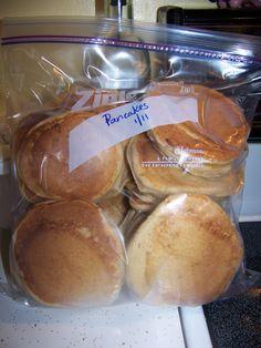 Breakfast Convenience Foods: Prep Ahead Meals