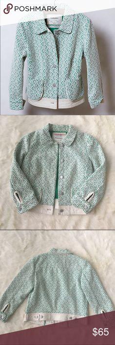 Anthropologie meadow lattice Cartonnier jacket Excellent condition meadow lattice jacket size xs. Such a gorgeous jacket! Anthropologie Jackets & Coats