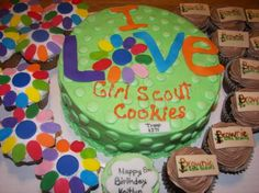 Girl Scouts Cake